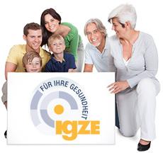 Logo Integriertes Gesundheitszentrum (IGZE)